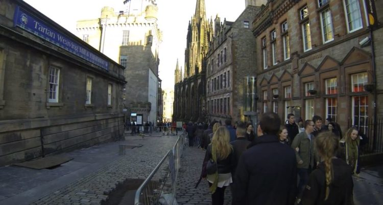 calle royal mile de edimburgo