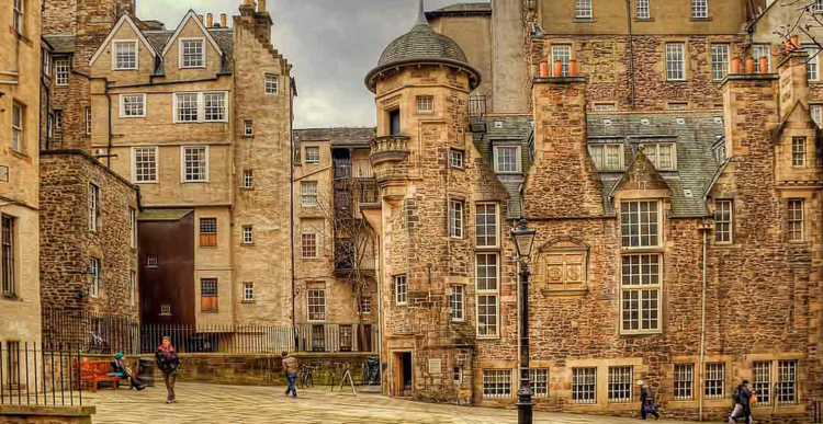 lawnmarket de edimburgo