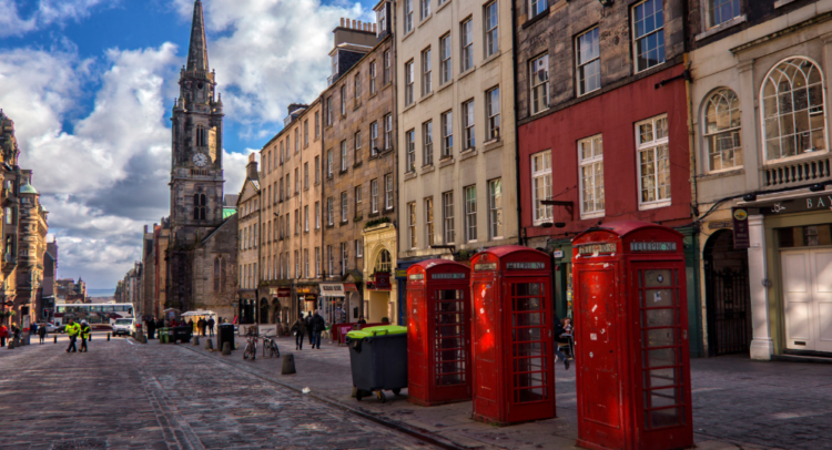 recorrer la royal mile de edimburgo
